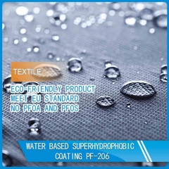 super hydrophobic textile and leather coating